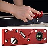 iScooter Outil daplatissement de coin de bord de menuiserie, avion de raboteuse en bois manuel en métal, raboteuse en bois, outils à main réglables, avion pour outil à main de bricolage de menuisier