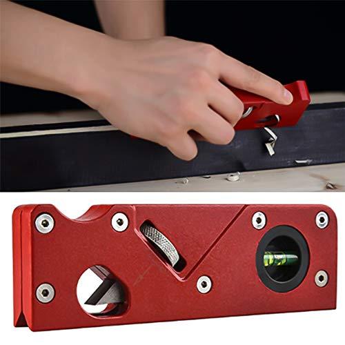 iScooter Holzbearbeitung Kantenecke Abflachungswerkzeug, Metall Manuelle Holzhobel Ebene, Holz Hobel, verstellbare Handwerkzeuge, Ebene für Tischler Holzbearbeitung DIY Handwerkzeug