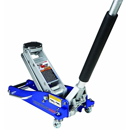 New! 3000 Lb Aluminum Racing Car Auto Floor Jack Low Profile Rapid Pump Lift
