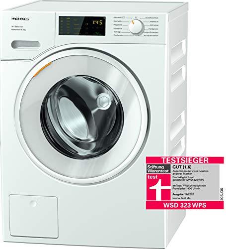 Miele WSD 323 WPS Frontlader Waschmaschine / 8 kg / saubere Wäsche in 49 min - QuickPowerWash / Vorbügeln / Kapseldosierung - CapDosing / Waterproof-System / 1400 U/min / A+++