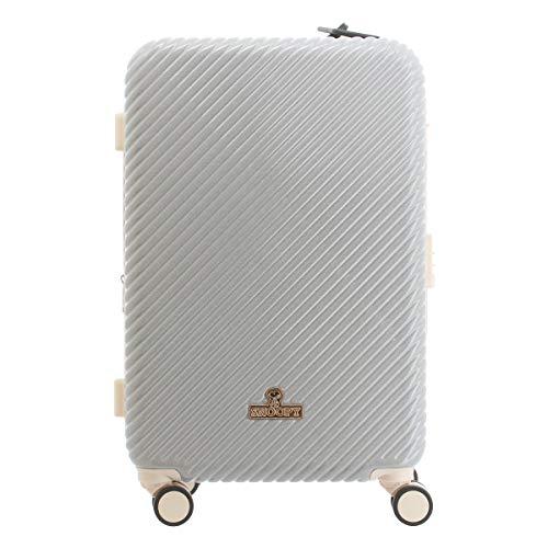 [ピーナッツ] スーツケース 54L 56cm 3.9kg PN-029 PEANUTS ハード ファスナー キャリーケース TSAロック搭載 エキスパンダブル 拡張 キャラクター スヌーピー アイボリー