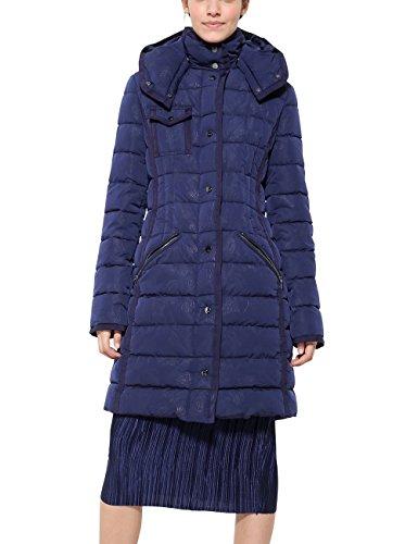 Desigual Abrig_pisa, Abrigo Mujer, Azul (Navy 5000), 36 (Talla fabricante: 36)