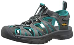 Bungee lace capture system Features elastic cording which gives this sandal a secure fit Hydrophobic mesh lining. Non-marking rubber outsole. Compression molded EVA midsole METATOMICAL FOOTBED DESIGN. This internal support mechanism is anatomically e...