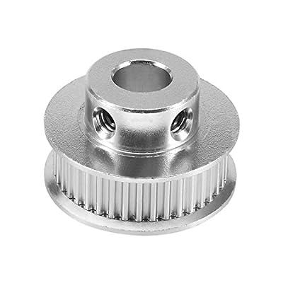 BOINN Aluminum GT2 36 Teeth 8mm Bore Timing Belt Pulley Flange Synchronous Wheel for 3D Printer