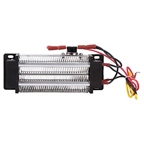 Luyipingqiwnd AC 220V 500W Caja fuerte de aluminio Calentador de cerámica eléctrica...