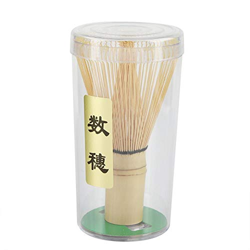 Nikou Tee-Schneebesen - Chasen Bambus natürlicher Bambus-Tee-Schneebesen Chasen Vorbereiten des Matcha-Puderpinsel-Werkzeugs(72 Prongs)
