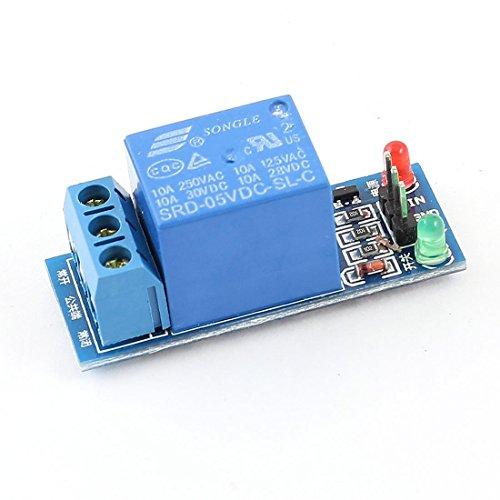SRD-05VDC-SL-C DC 5V Uno canales del módulo relé de potencia de la bobina