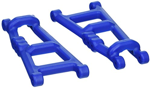RPM 80185 1 Pair of Blue Rear A-Arms, fits Traxxas Electric 2WD Monster Jam, Rustler, and Stampede