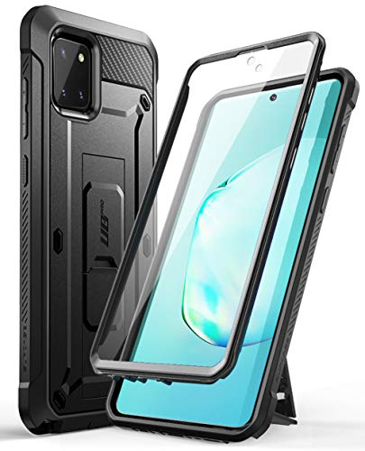 SUPCASE Unicorn Beetle PRO Series Phone Case Cover for Samsung Galaxy Note 10 Lite, Full-Body Rugged Holster Case Cover with Built-in Screen Protector for Samsung Galaxy Note 10 Lite 2020 (Black)