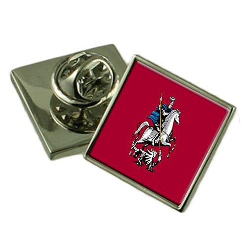 Select Gifts Ciudad de Moscú Rusia Bandera Insignia de Solapa Cuadro Grabado
