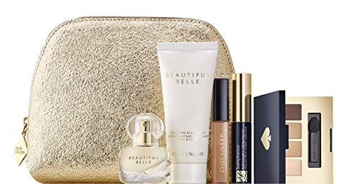 Estee Lauder 6 pc Beautiful Belle Eau de Parfum Purse Spray Travel Set