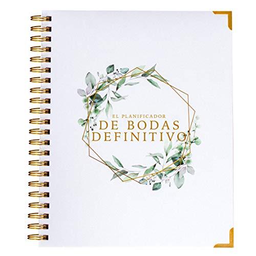 Planificador de bodas y libro organizador - Diario - Calendario - Edición en español
