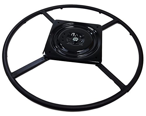 """True Choice 24"""" Replacement Swivel Ring Base for Recliner Chairs and Other Swivel Base Seating (24 inch)"""