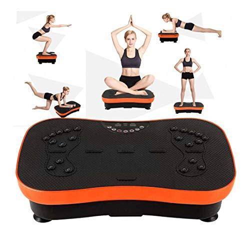 Y&XF Machine d exercice De Plaque De Vibration Ultra Mince, Machine De Vibration De Tout Le Corps pour Le Fitness À Domicile Et La Perte De Poids, Charge Maximale De 200 Kg