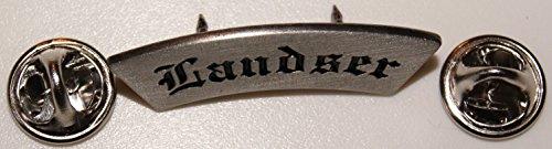 Landser Soldat Heer Schriftzug Militaria l Anstecker l Abzeichen l Pin 293