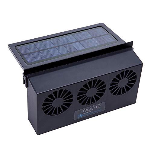Cicony Fan accionada Solar del Coche, Ventilador Solar de la ventilación de Aire del Extractor de la Fan de la ventanilla del Coche