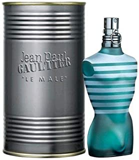 Jean Paul Gaultier Le Male Eau De Toilette Spray for Man. EDT 4.2 fl oz, 125 ml