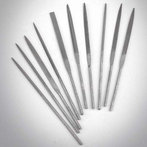 Efco Pliant ultrafin 10 Segments Coupe Fine Aiguille fichiers, Gris