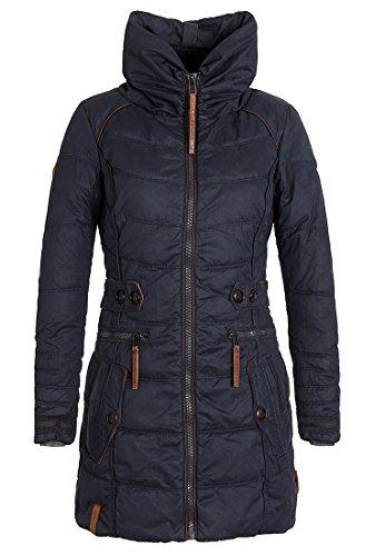 Damen Jacke Naketano Knastrologin IV Jacke, Größe S, Farbe Dark Blue