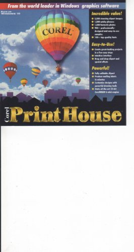 Corel The Print House CD-ROM