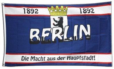 Flaggenfritze Fahne/Flagge Berlin 1892 Die Macht aus der Hauptstadt + gratis Sticker