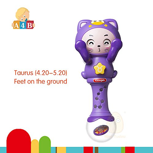 Lowest Prices! Taurus Constellation Plush Baby Musical Rattle Baby Hand Bells Toy for 0-12 Months Ch...