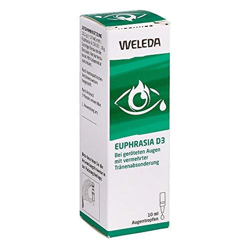 Weleda Euphrasia D3 Augentropfen, 10 ml Lösung