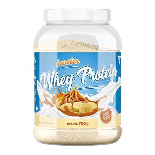 Trec Nutrition Booster Whey Protein 700g Whey Protein Powder Build Muscle (Peanut Butter Banana)