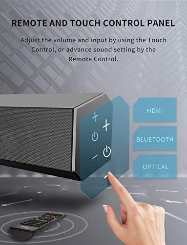VMAI Sound Bar, TV Sound Bar with Subwoofer - Best Soundbar Under 200