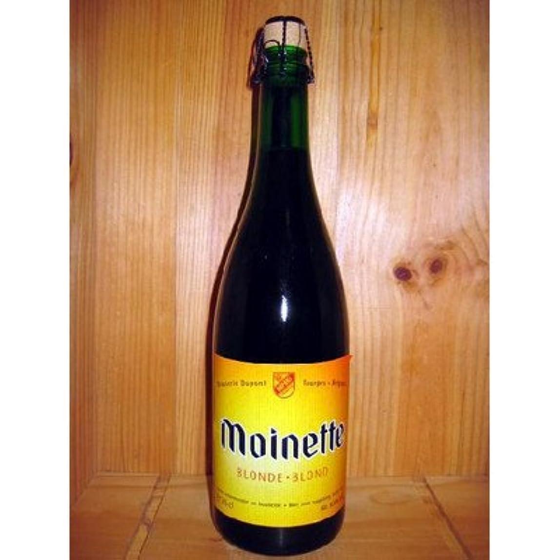 休み活発緩めるベルギービール モアネット ブロンド750ml