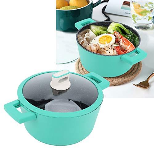 KAKAKE Sartén de cocción, Calor de cocción Flexible con Revestimiento Antiadherente Uniforme Olla de Cocina de 24 cm para Cocina de inducción para Hotel