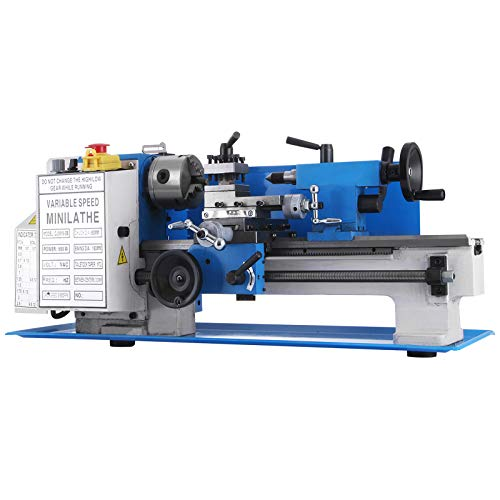 Find Bargain Mophorn Metal Lathe 7 x 12 Inch, Precision Mini Metal Lathe 2500 RPM 550W Variable Spee...