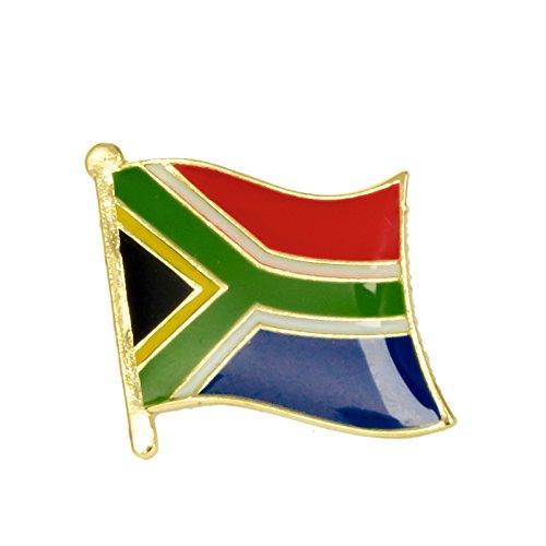 Anstecknadel Südafrika-Flagge aus Metall