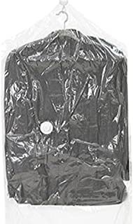 Travelon Set Of 2 Compression Storage Bags, Clear, One Size