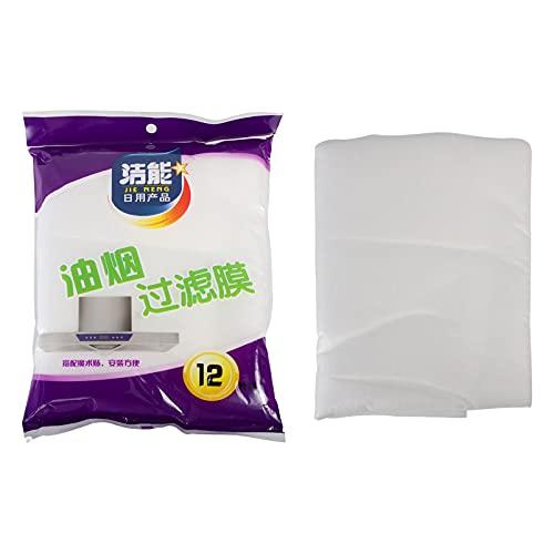 Cabilock 2Pcs Dunstabzugshaube Filter Papier Küche Öl Absorption Papier Vlies Stoff für Universal Haube Filter Fett Öl Absorbieren Ersatz Papier