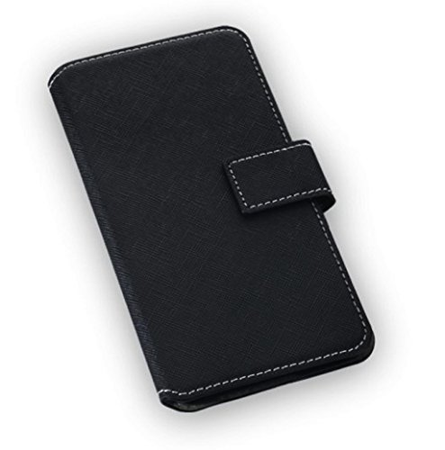 """'Etui Housse de haute qualité style livre Flip Case Noir pour """"Samsung Galaxy S7 Housse Coque Étui Book Case Cover"""