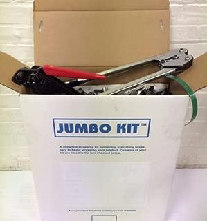 Jumbo PET Strapping Kit 1,200 lb Break Strength