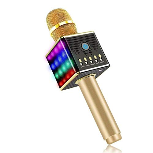 For Sale! QARYYQ Microphone Wireless Bluetooth Karaoke Microphone, Live Microphone Portable Handheld...