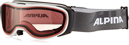 ALPINA Bonfire 2.0 QV Skibrille, White, One Size