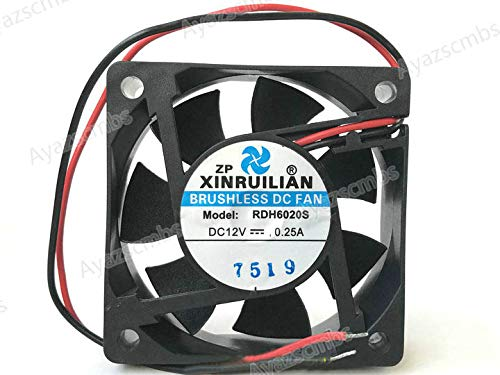 1PC RUILIAN SCIENCE 9025 RDL9025S DC12V 0.16A 2-wire refrigerator cooling fan