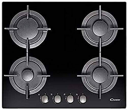 Candy CVG 64 SGNX Incasso Piano cottura a gas Nero piano cottura