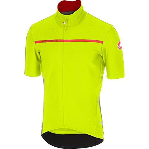 Castelli Gabba 3 Jersey - Men's Yellow Fluo, M