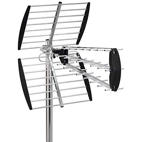 Thomson ANT2218 DVB-T/DVB-T2-Außenantenne, max. Reichweite 50 km