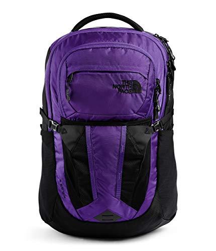 The North Face Damen Recon Rucksack, Peak Purple Ripstop/TNF Black, One Size