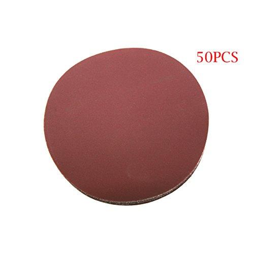 Jrl 12,7 cm 125 mm 400 Grit Sander disque ponçage polissage Pad disque de papier abrasif