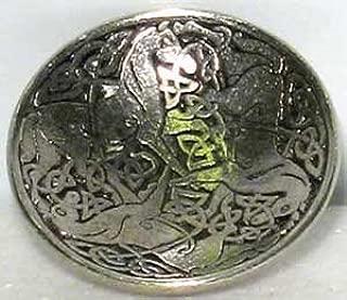 Sage Cauldron Celtic Horses Cone Incense Burner