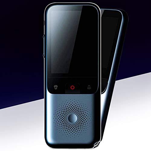InLoveArts Intelligenter Sprachübersetzer Mit 138 Sprachen ist die Reaktionsgeschwindigkeit geringer als 0,2 S Echtzeit Sprachübersetzer WiFi/Offline-Fotoübersetzer,High-Definition-Touchscreen