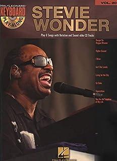 Stevie Wonder: Keyboard Play-Along Volume 20