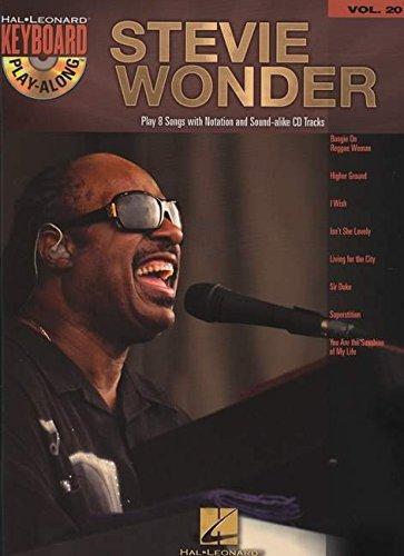 Keyboard Play-Along Vol.20 Stevie Wonder + Cd
