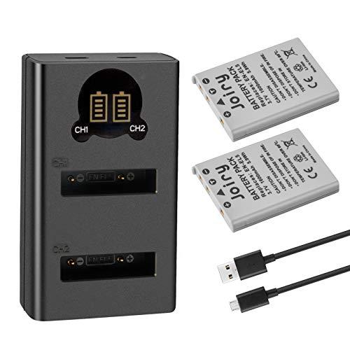 2X EN-EL5 Batería de Repuesto Compatible con Nikon Coolpix P530, P520, P510, P100, P500, P5100, P5000, P6000, P90, P80 Cameras